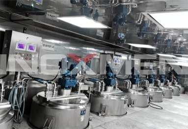 Jam-and-Concentrated-Juice-Standardization-Engineering-Examples-Jam-Double-speed-Mixing-Tank