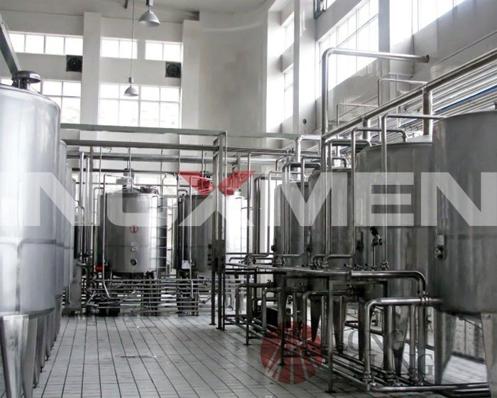 Semi-auto-split-type-CIP-cleaning-system