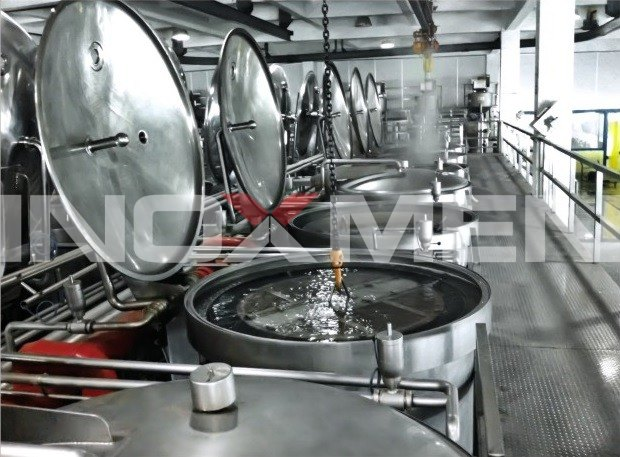 Tea-Beverage-Engineering-Examples-Basket-Hoist-Extraction-System