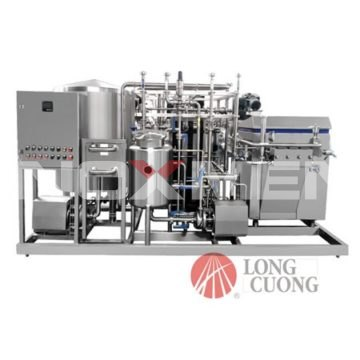 Yogurt-Pasteurizer-4 Sections-dd